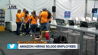 Amazon hosting giant job fair in Hebron Wednesday, with 'on-the-spot' job offers - Video