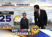 Meet Ella! Our weather kid of the week! - Video