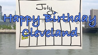 Cleveland turns 222 on 7/22, John Kosich has the history lesson - Video