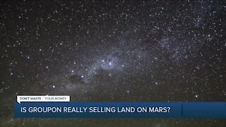 Is Groupon really selling land on Mars?