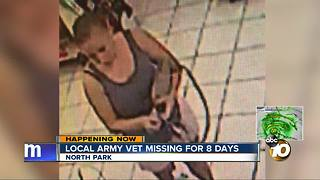 Local Army veteran missing for over a week - Video