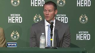 Wisconsin Herd intorduce new head coach and GM - Video