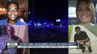Victim's family says suspect should get death penalty - Video