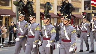 New York City marks Veterans Day with annual parade