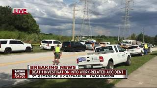 Death investigation into work-related accident - Video