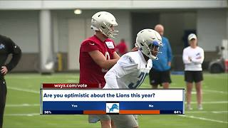Lions back at training camp - Video