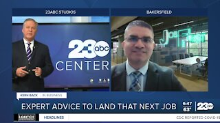 Expert advice on landing a job
