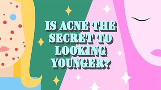 Is spotty skin the answer to looking younger? - Video
