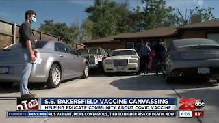 S.E. Bakersfield Vaccine Canvassing