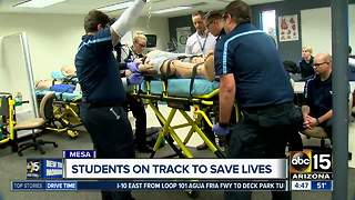 Pima Medical Institute helping students save lives - Video