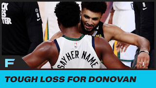 Donovan Mitchell DEVASTATED, Had To Be Consoled By Jamal Murray After Game 7 Loss To Nuggets
