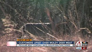 Customers want money back after deer meat molds over