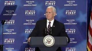 Vice President Pence remarks on North Korea - Video
