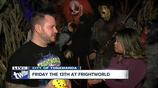 Celebrating Friday the 13th at Frightworld - Video