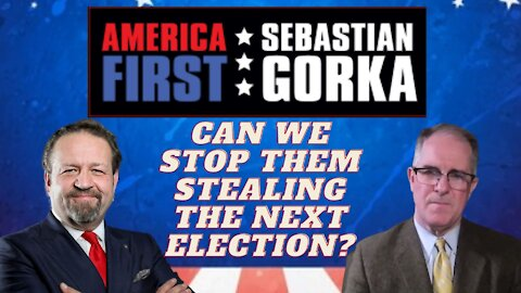 Can we stop them stealing the next election? Phill Kline with Sebastian Gorka on AMERICA First