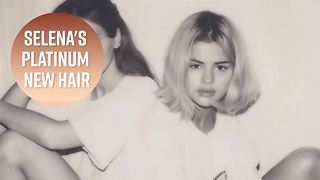 Selena Gomez goes blonde! - Video