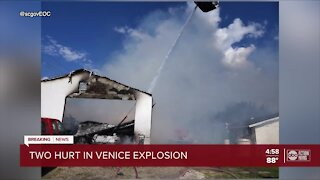 Explosion sends 2 people to burn centers, forces many to evacuate homes in Venice