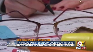 Shutdown could delay tax refunds - Video