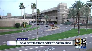 More local restaurants coming to Phoenix Sky Harbor International Airport - Video