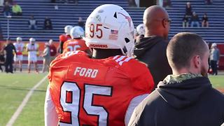 Texas DT Poona Ford at the Senior Bowl - Video