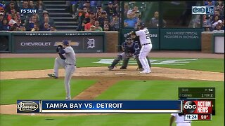 Miguel Cabrera drives in 5 runs as Tigers end home losing streak with 9-6 win over Rays