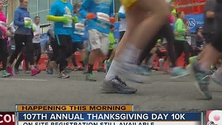 Thousands set to run Thanksgiving Day Race - Video