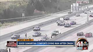 Family of crash victim thanks good Samaritan - Video