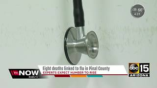 Eight deaths linked to flu in Pinal County - Video