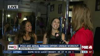 Pole and Aerial Fitness offers unique workout experience - 8:30am live report - Video