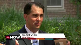 Scott Walker recaps the Foxconn deal - Video
