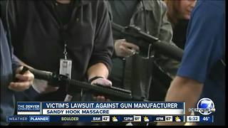 Sandy Hook gun lawsuit - Video