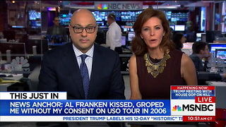 WATCH: MSNBC Host On Franken