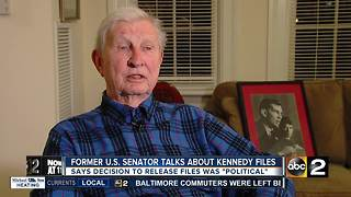 Former U.S. Senator Joe Tydings speaks out about just released Kennedy files