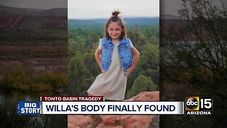 Willa Rawlings' body found north of Roosevelt Lake
