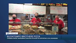 """Buontempo Brothers Pizza in Bel Air says """"We're Open Baltimore!"""""""