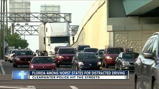 Florida among worst states for distracted driving