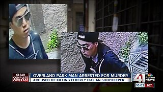 Overland Park man arrested for murder of Italian shop owner
