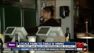 Kern Back in Business: Locale Farm to Table is hiring