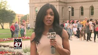 Unity vigil at Capitol following deadly Virginia protests - Video
