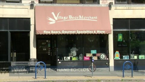 Village Beer Merchant in the Elmwood Village announces it is closing