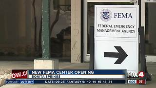 Disaster Recovery Center to open in Bonita Springs Friday - Video