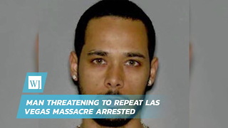 Man Threatening To Repeat Las Vegas Massacre Arrested - Video