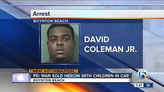 Man nicknamed 'Boogie' accused of trying to sell drugs with children in car - Video