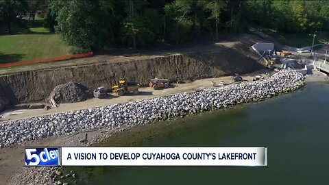 Cuyahoga County announces plan to connect paths, trails along Lake Erie