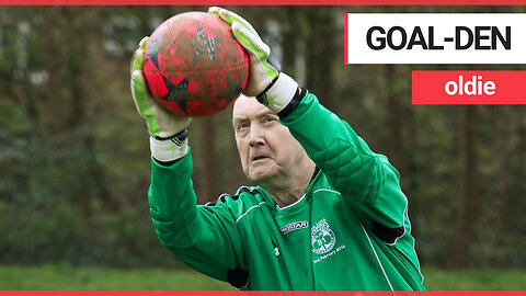 Britain's oldest goalkeeper still plays for his local club aged 79