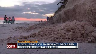 State of emergency declared at Lido Beach for erosion