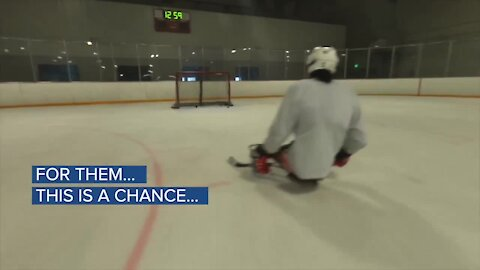 Colorado Sled Hockey's trailer reported stolen. How you can help