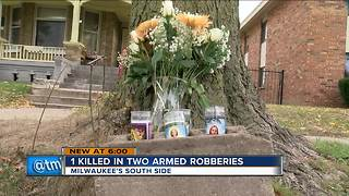 1 dead, 1 injured in separate overnight robbery-related shootings in Milwaukee - Video