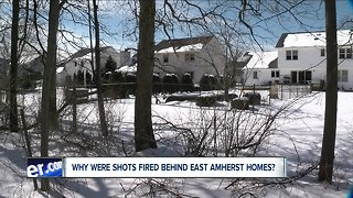 Residents concerned after shots fired in woods behind their homes.