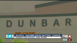 LCSD teacher charged with battery - Video